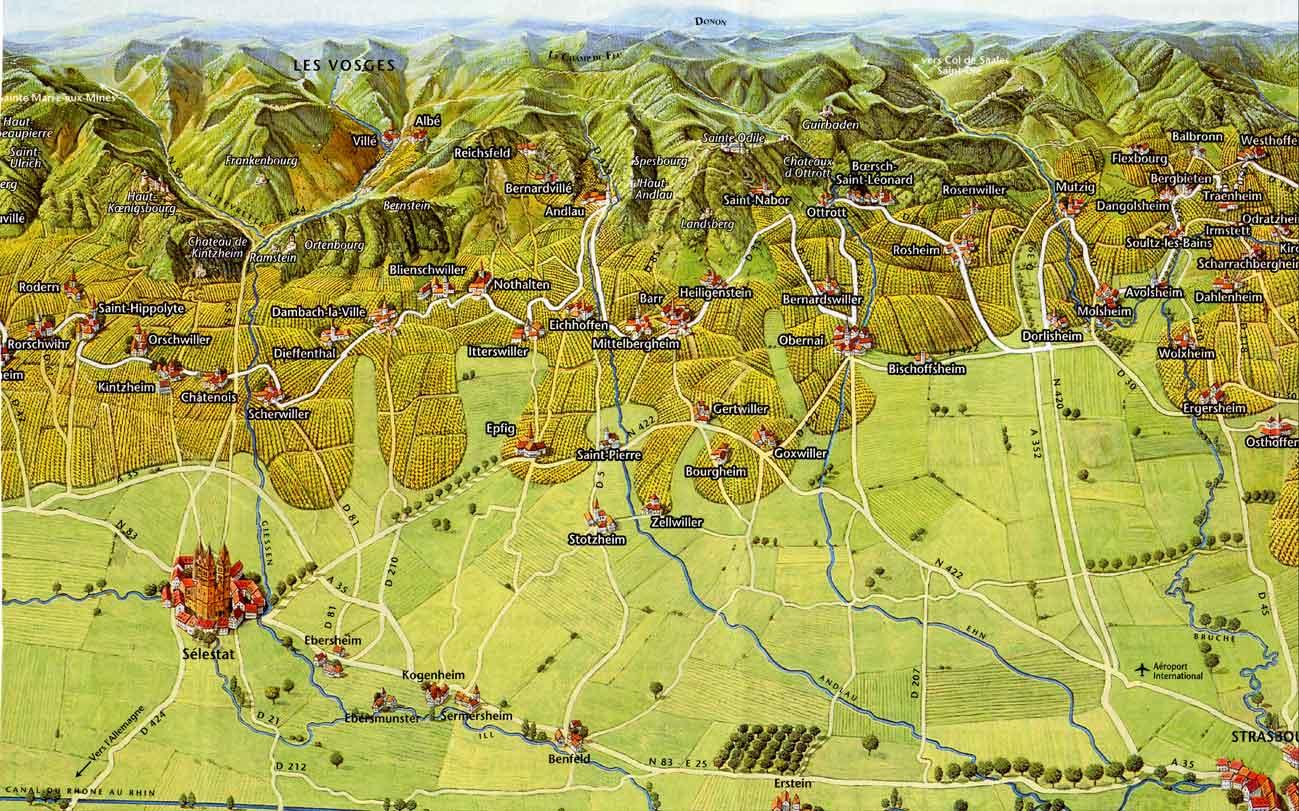 Populaire Vins d'Alsace Henri Martischang WL29